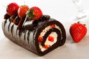 resep kue bolu cokelat moka