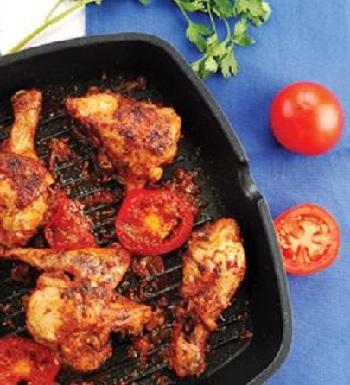 resep ayam panggang saus tomat