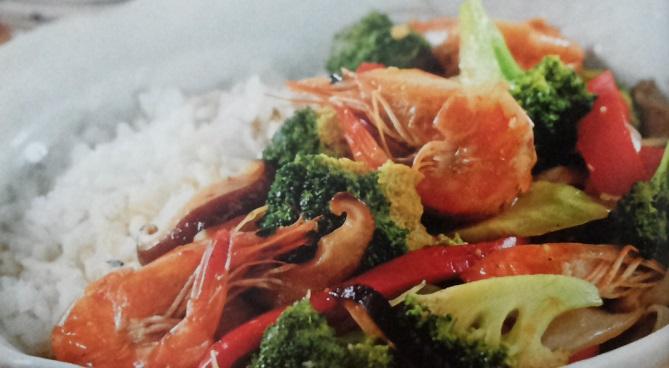 Resep Cah Brokoli Udang Jamur