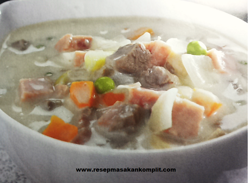 Cara Membuat Cream Soup