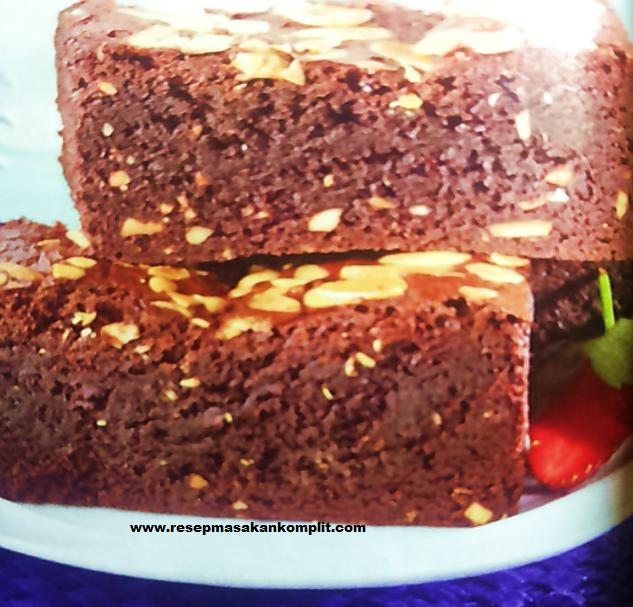 resep cara membuat brownies
