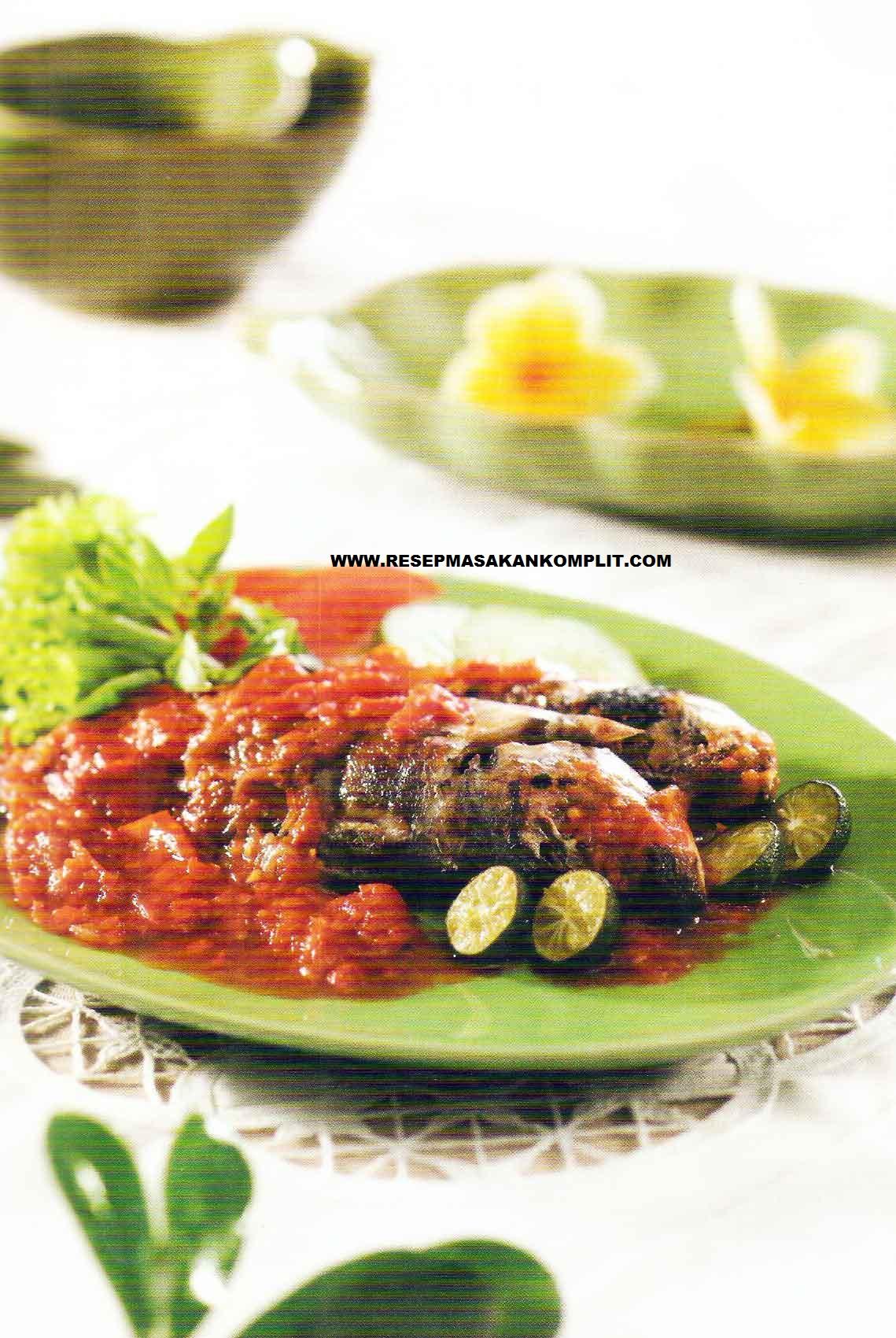 Resep Ikan Kembung Sambal Tomat