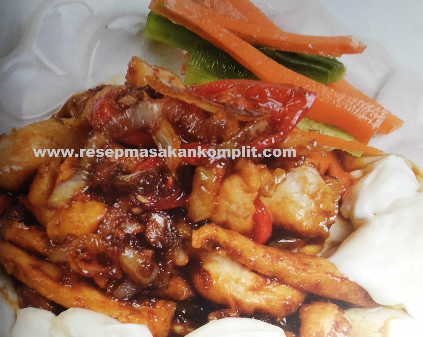 Resep Tumis Ayam Sambal Pedas